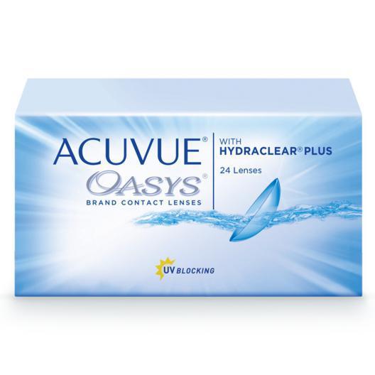 Acuvue Oasys with  Hydraclear Plus (24 шт) Подробности акции у администратора.