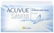 Acuvue Oasys with  Hydraclear Plus (12 шт) Подробности акции у администратора.